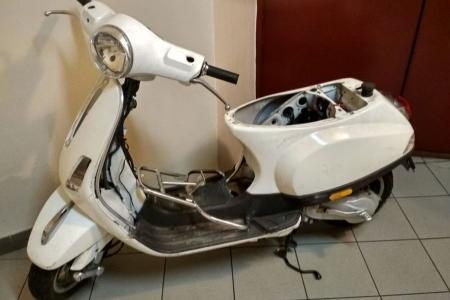 Odzyskany skuter