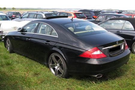 Mercedes CLS z LoJack