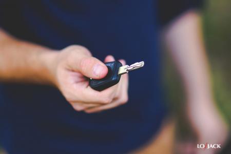 Klucz do odzyskanego pojazdu