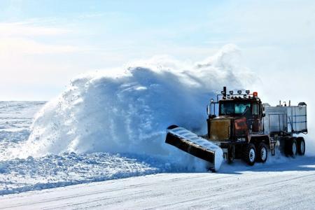 kradzież pługa do śniegu to duże straty finansowe