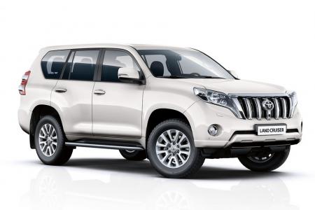 Toyota Land Cruiser - odzyskanie dzięki systemowi radiowemu LoJack