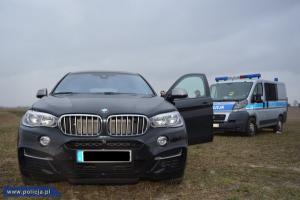 Skradziony samochód odzyskany przez policję
