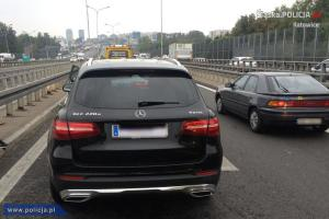 skradziony Mercedes