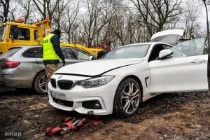 Odzyskane przez policję BMW