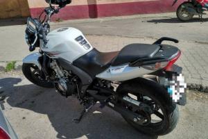 Odzyskany motocykl