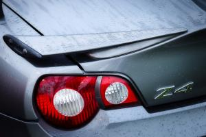 Odnalezione po kradzieży BMW Z4