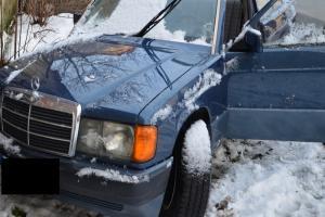 Samochód, którym poruszali się złodzieje