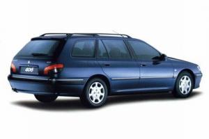 Peugeot 406 odzyskany po kradzieży