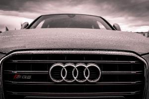 odnalezione po kradzieży Audi SQ5
