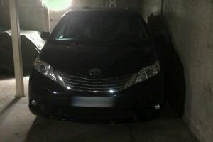 skradziona Toyota Siena