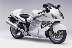 Suzuki GSX odnalezione dzięki LoJack