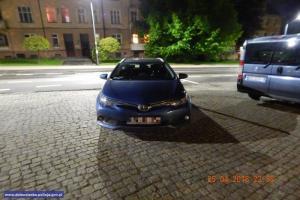 Jeden z odzyskanych samochodów