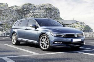 VW Passat odzyskany po kradzieży